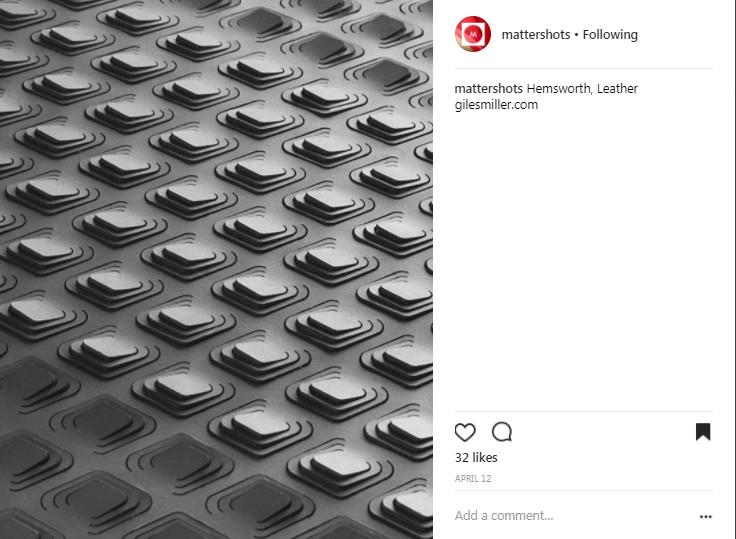 Mattershot Reference: https://www.instagram.com/p/BSy07tABF7g/