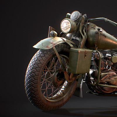 WW2 Harley WLA 1942