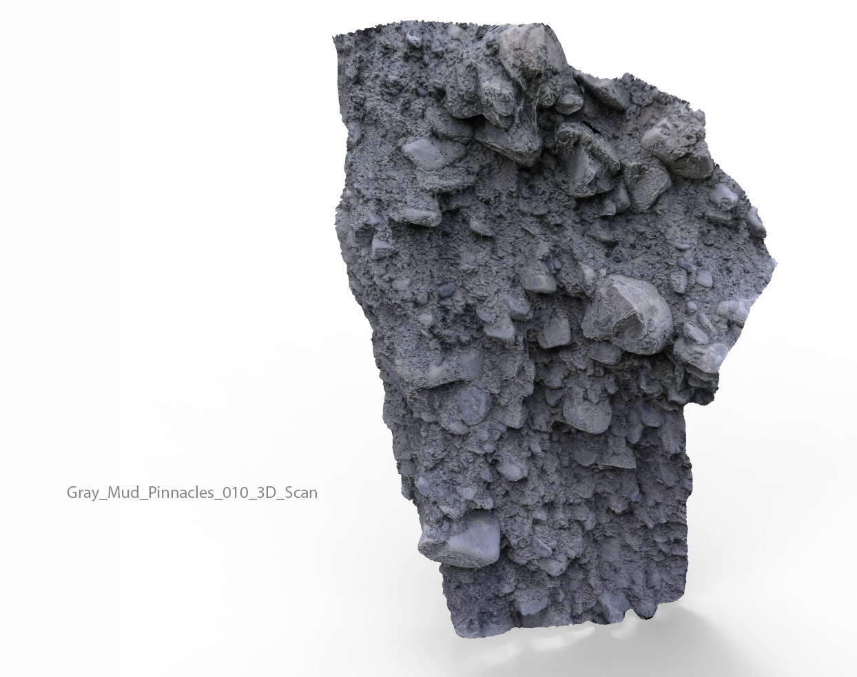 Anton tenitsky gray mud pinnacles 010 3d scan
