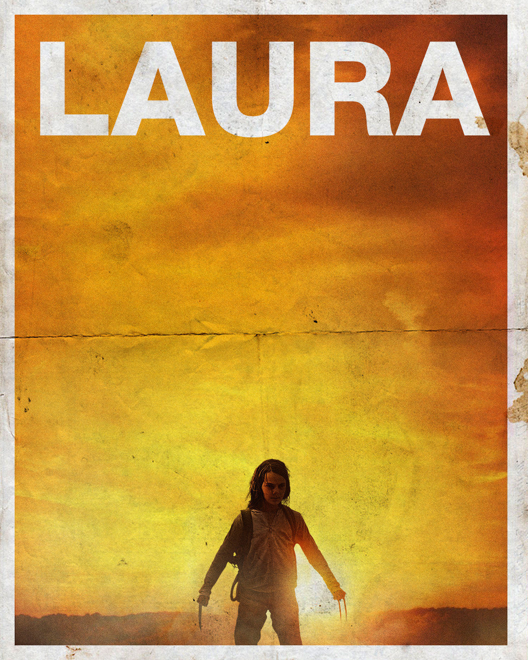 Remade the Logan poster with Laura instead
