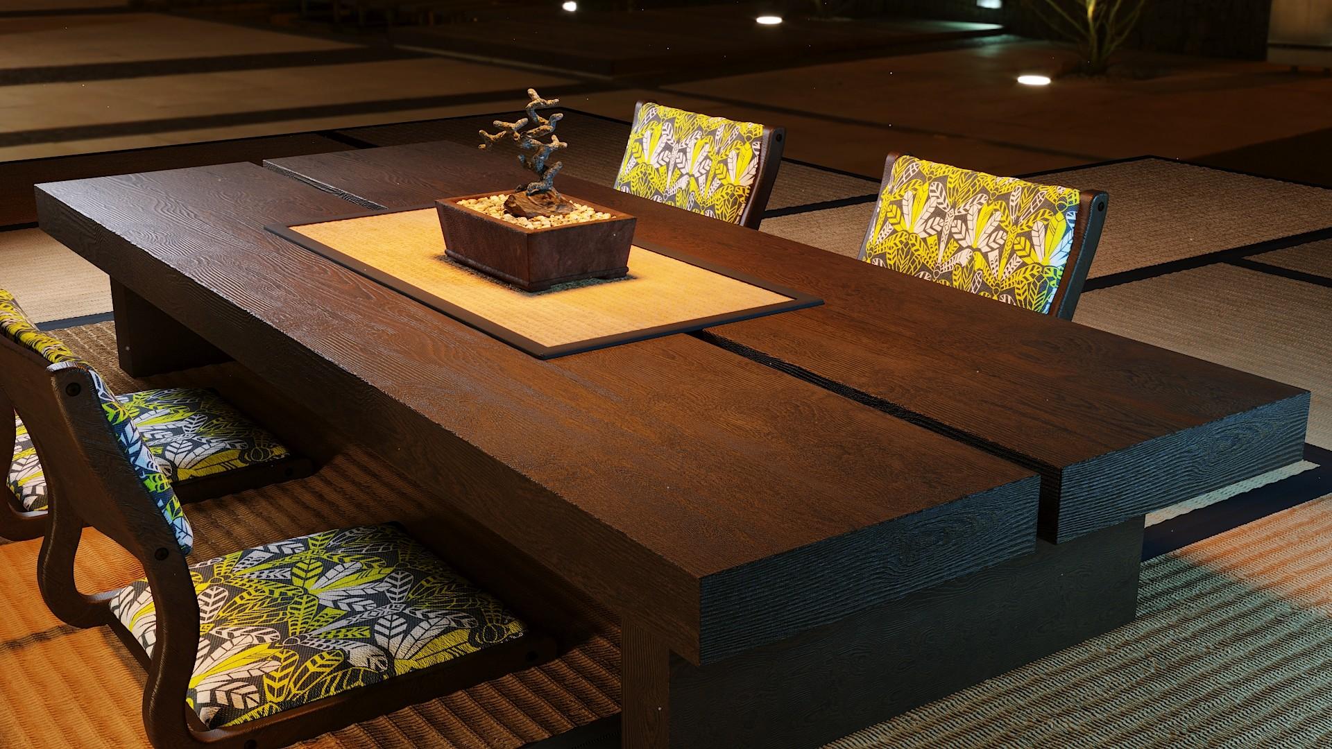 Jussi Jantunen - Japanese style floor table set