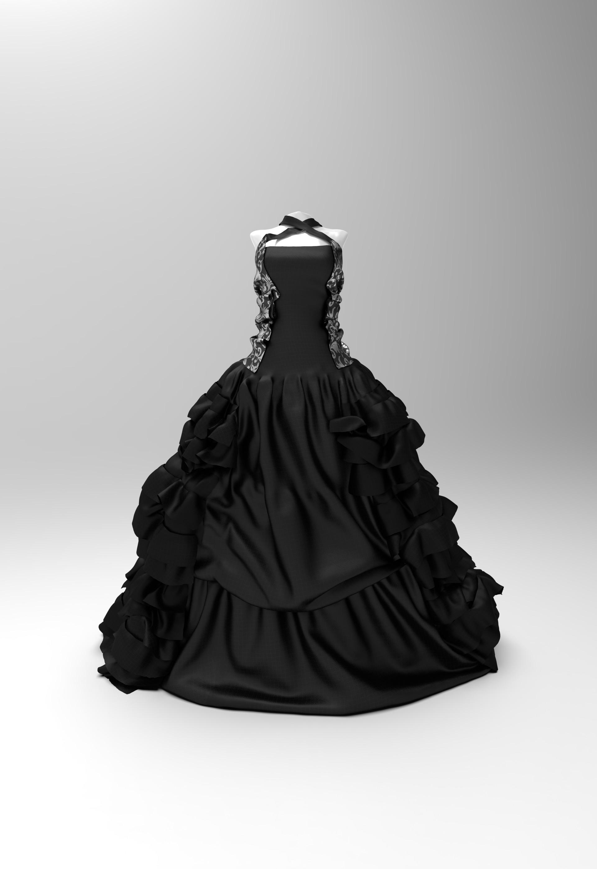 Yasuka taira dress front