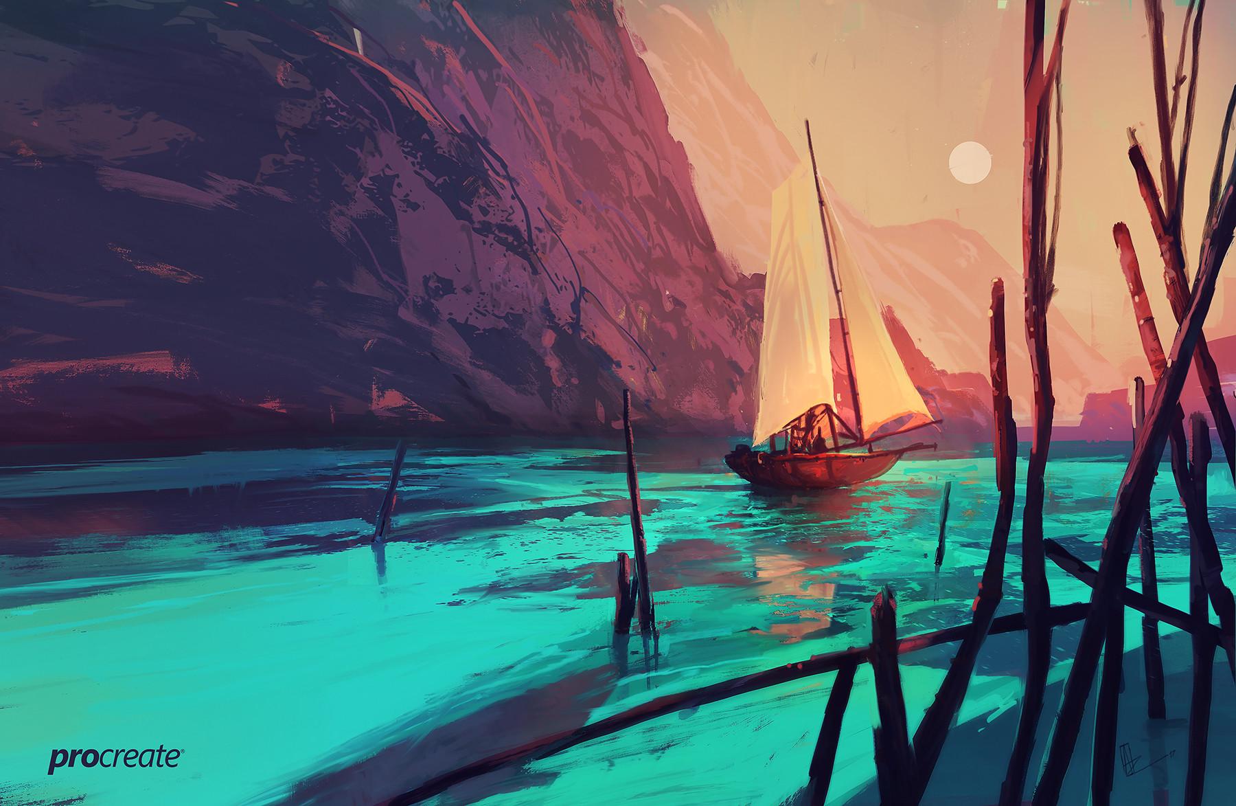 Amir zand boat