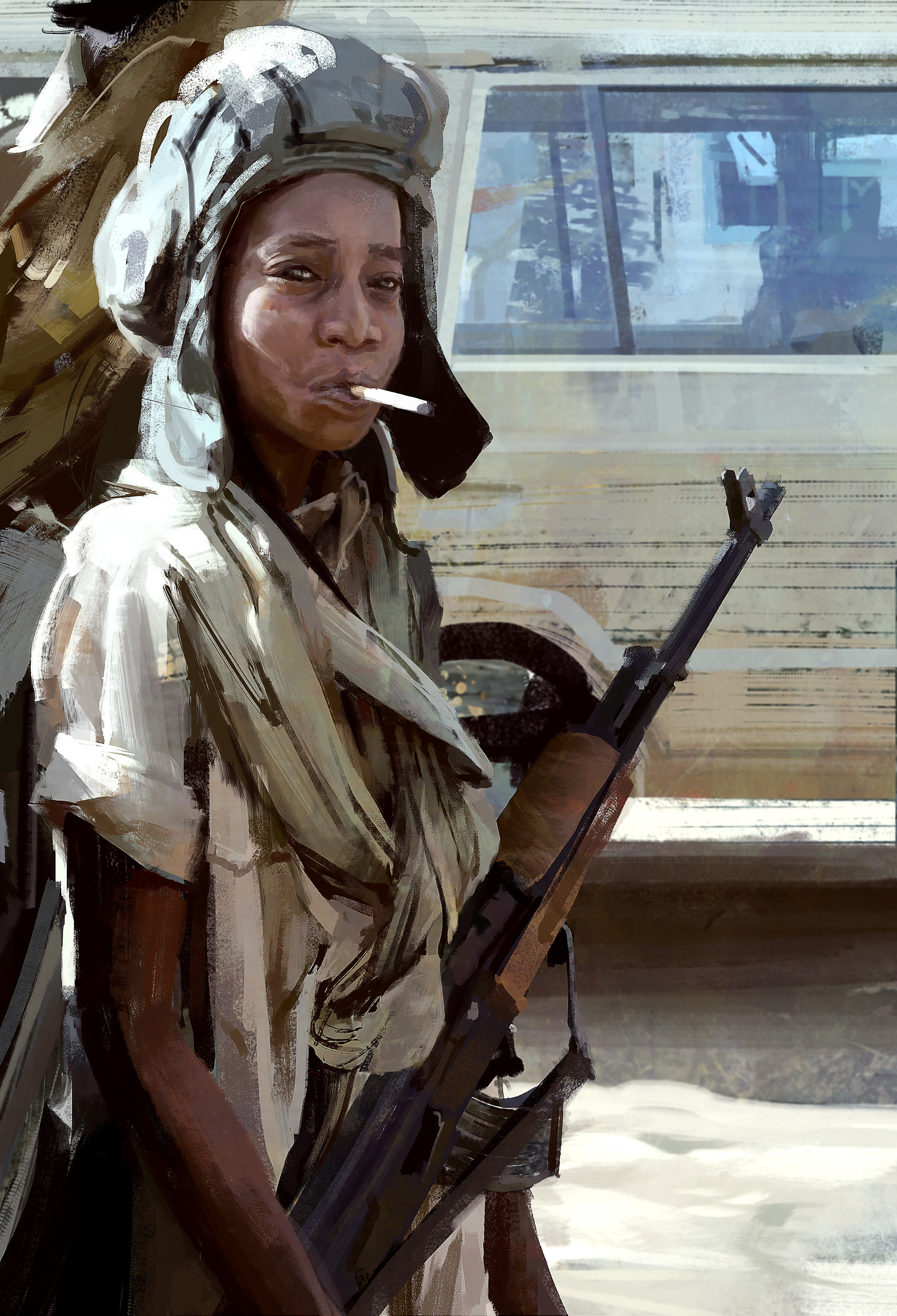 Child soldier Sudan