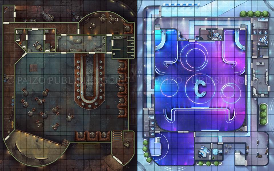 Starfinder: Cantina Playmat