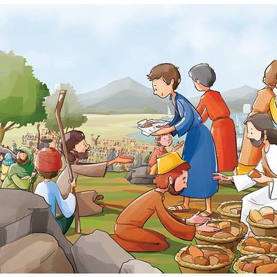 Parwinder singh 13 jesus feeding the poor