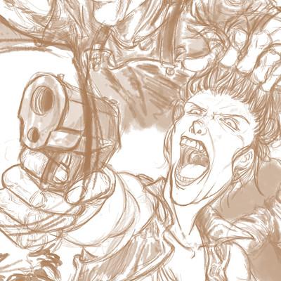 Michael tu zombie attack