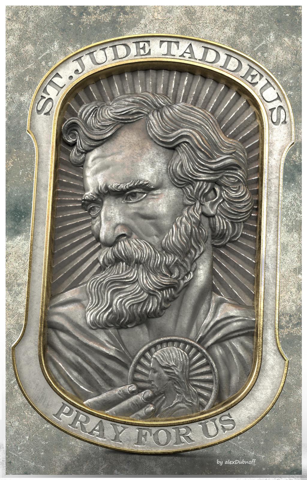 St Jude Taddeus pendant