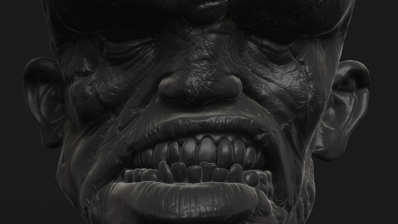 Franky creature (ZBrush Single BPR)