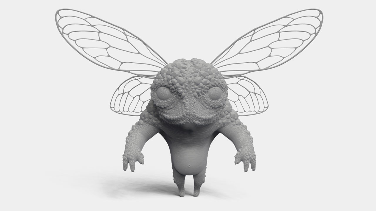 little bug creature (ZBrush Single BPR)