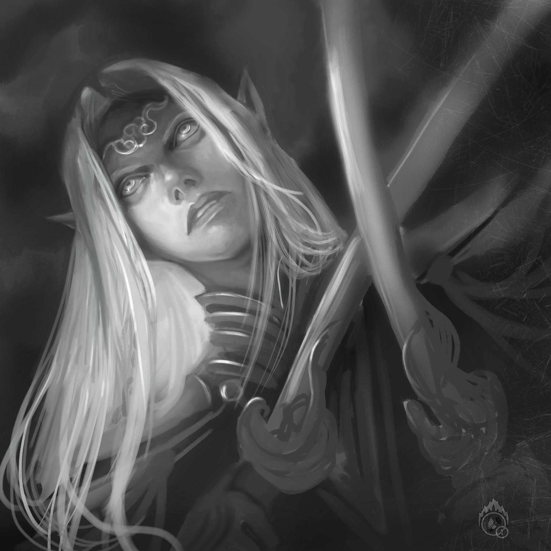Lorenn tyr sketch elf