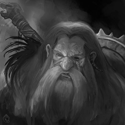 Lorenn tyr sketch dwarf