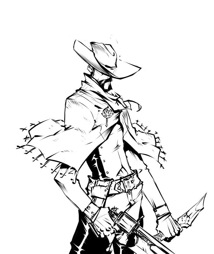 Jerome brulin pistolero
