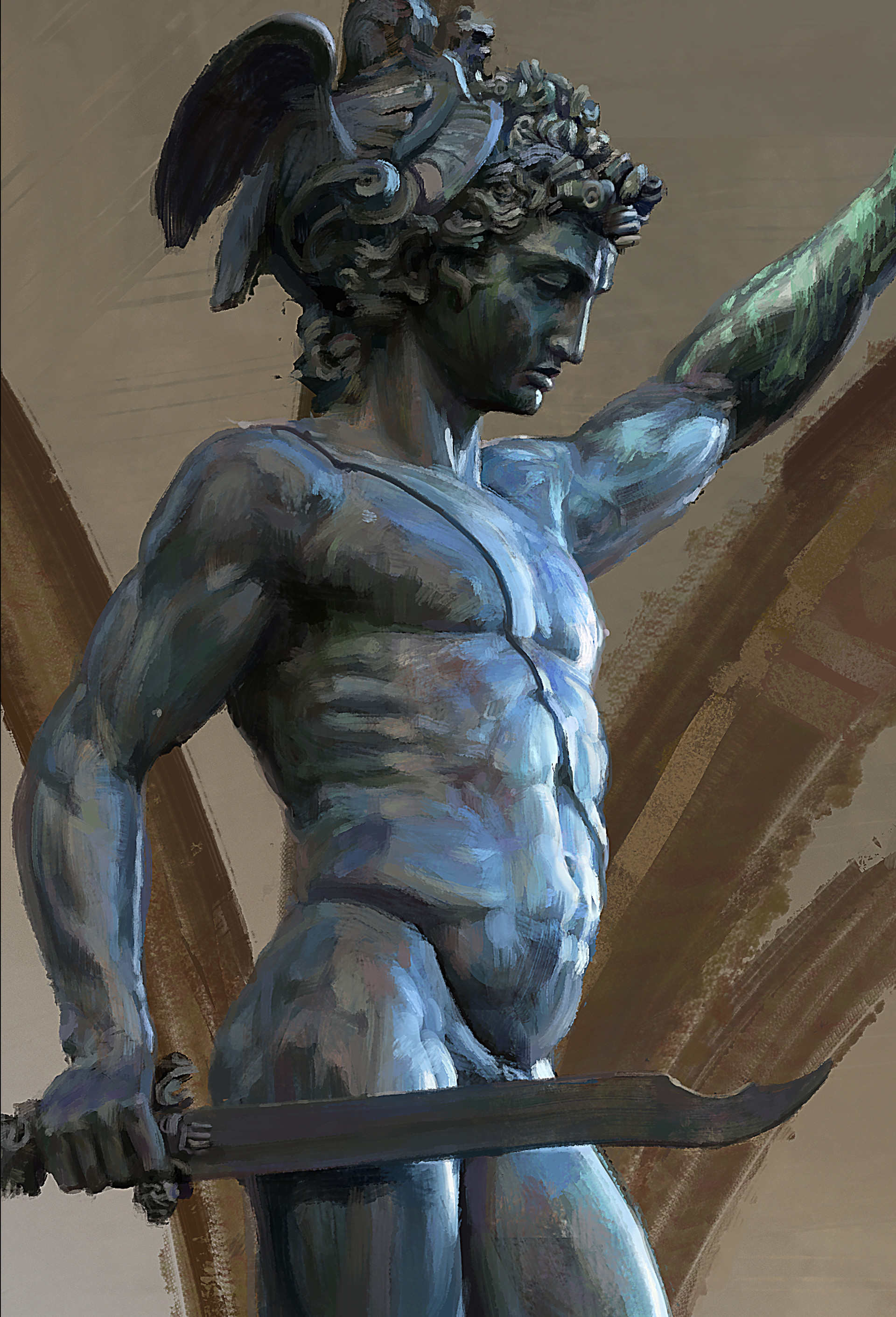 Kyle enochs perseusstatuedetail