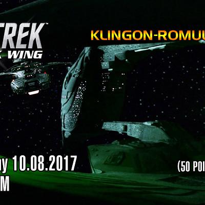 Brendon goodyear klingon romulan war