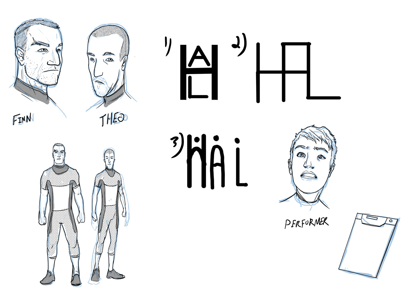 Character Designs - Humans