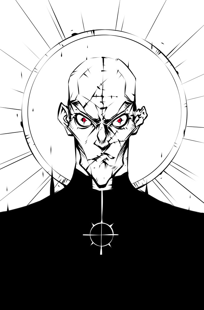 Jerome brulin priest of hell