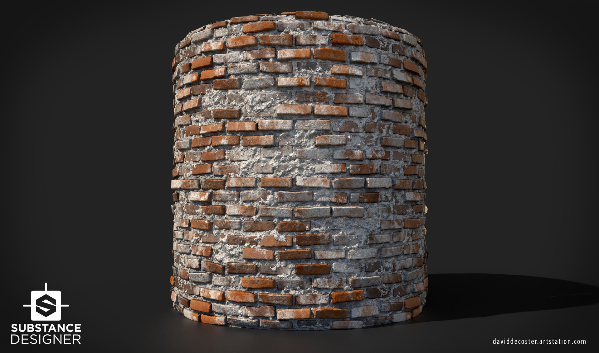 David decoster brick wall render 01