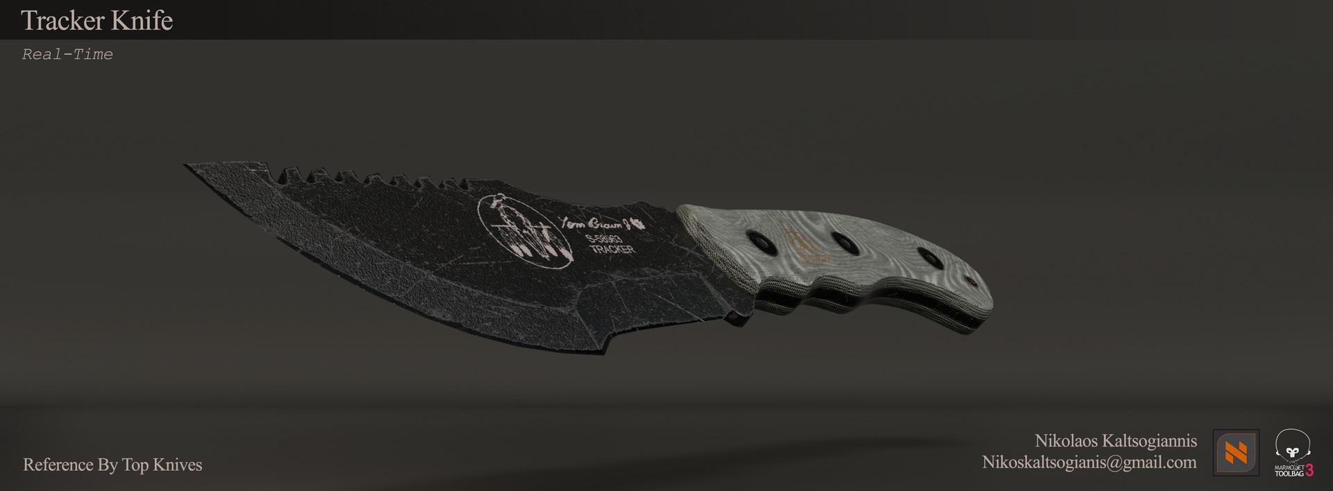 Nikolaos kaltsogiannis tracker knife presentation 03