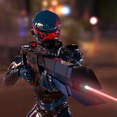 Adria bancells future soldier gun