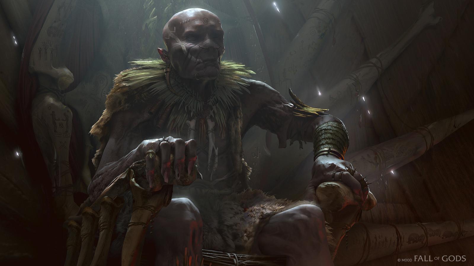 Fall Of Gods - Utgard Throne