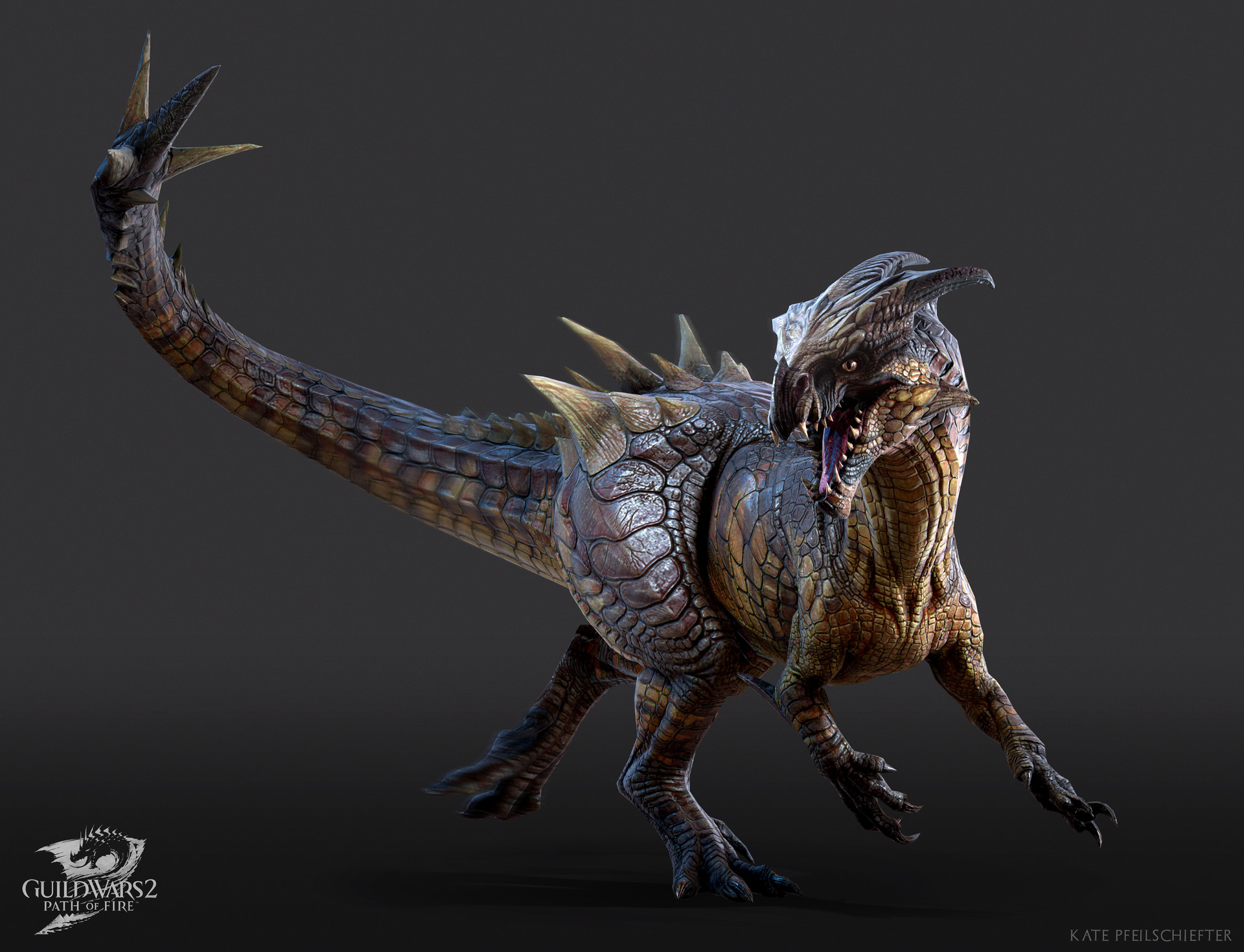Fantasy Art Dino Mount