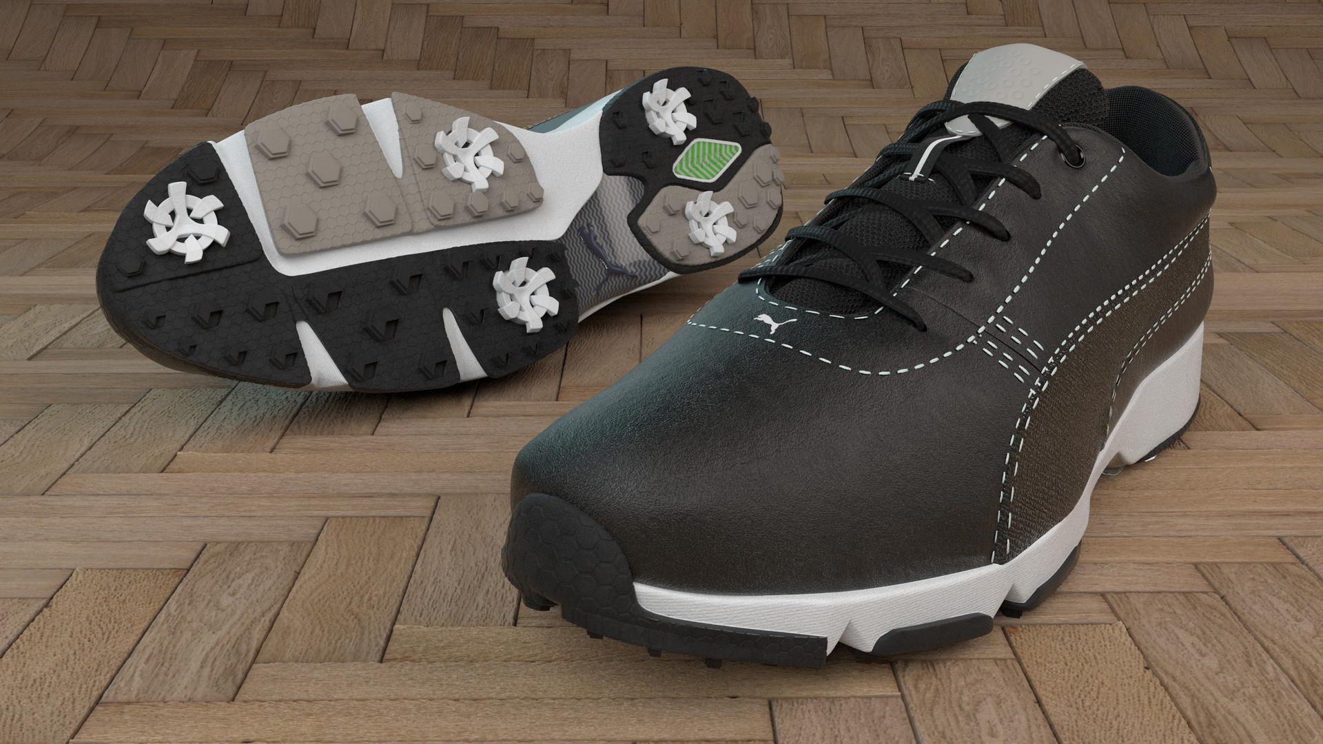 Artstation Puma Ignite Golf Shoe Ryan Ernst