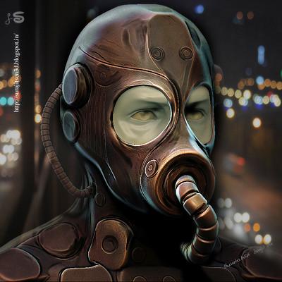 Surajit sen mask man doodle surajitsen 28112017