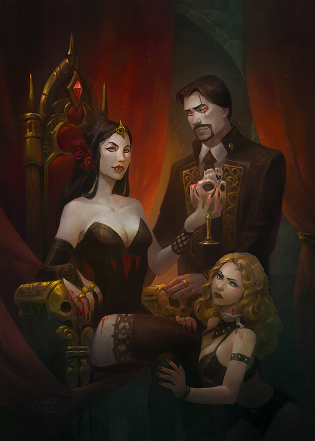 Grace liu vampire queen colorpreview2