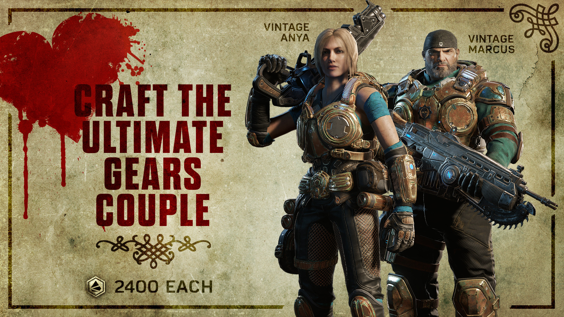 Craft the Ultimate Gears Couple