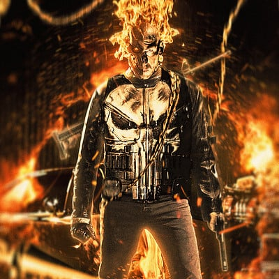 Nick tam masaolab ghostrider punisher mashup v1