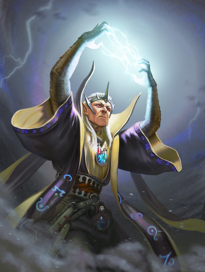 Arch Storm Mage
