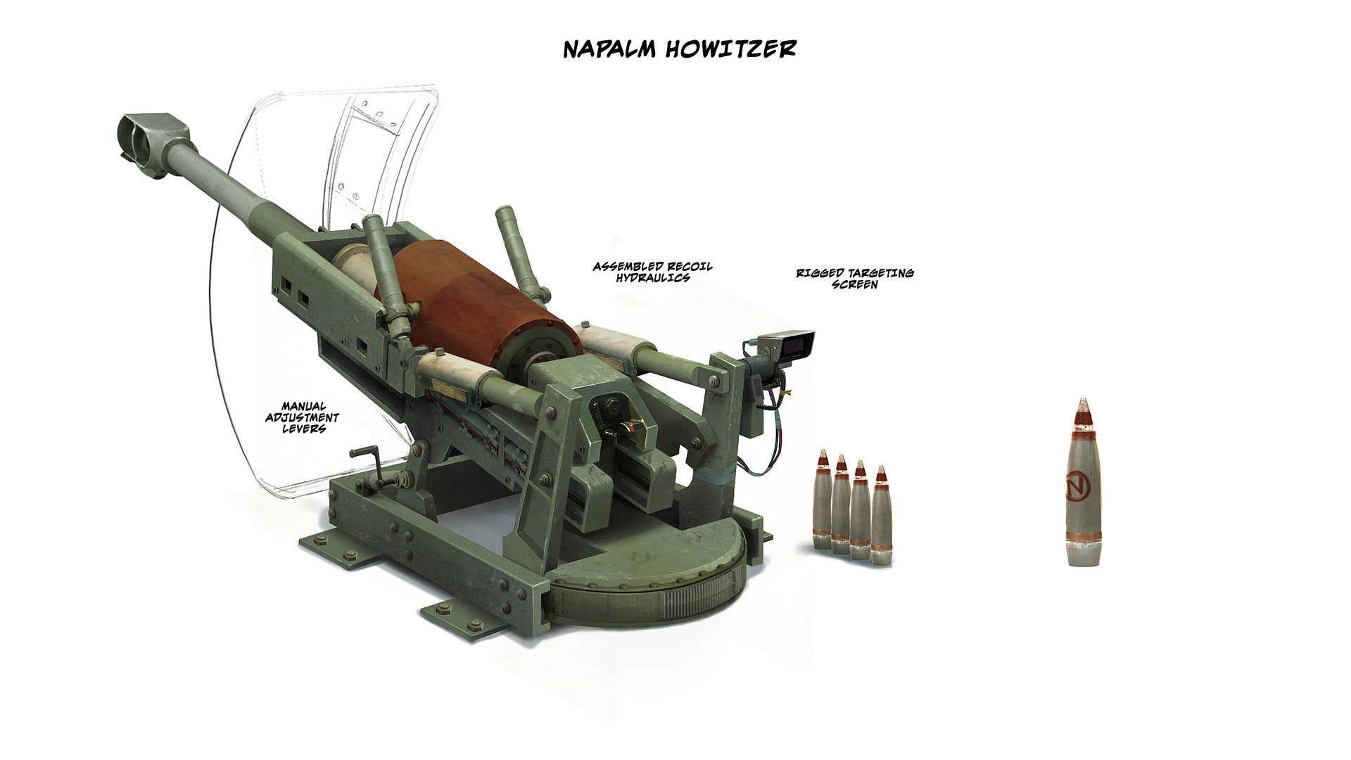 Refitted howitzer final