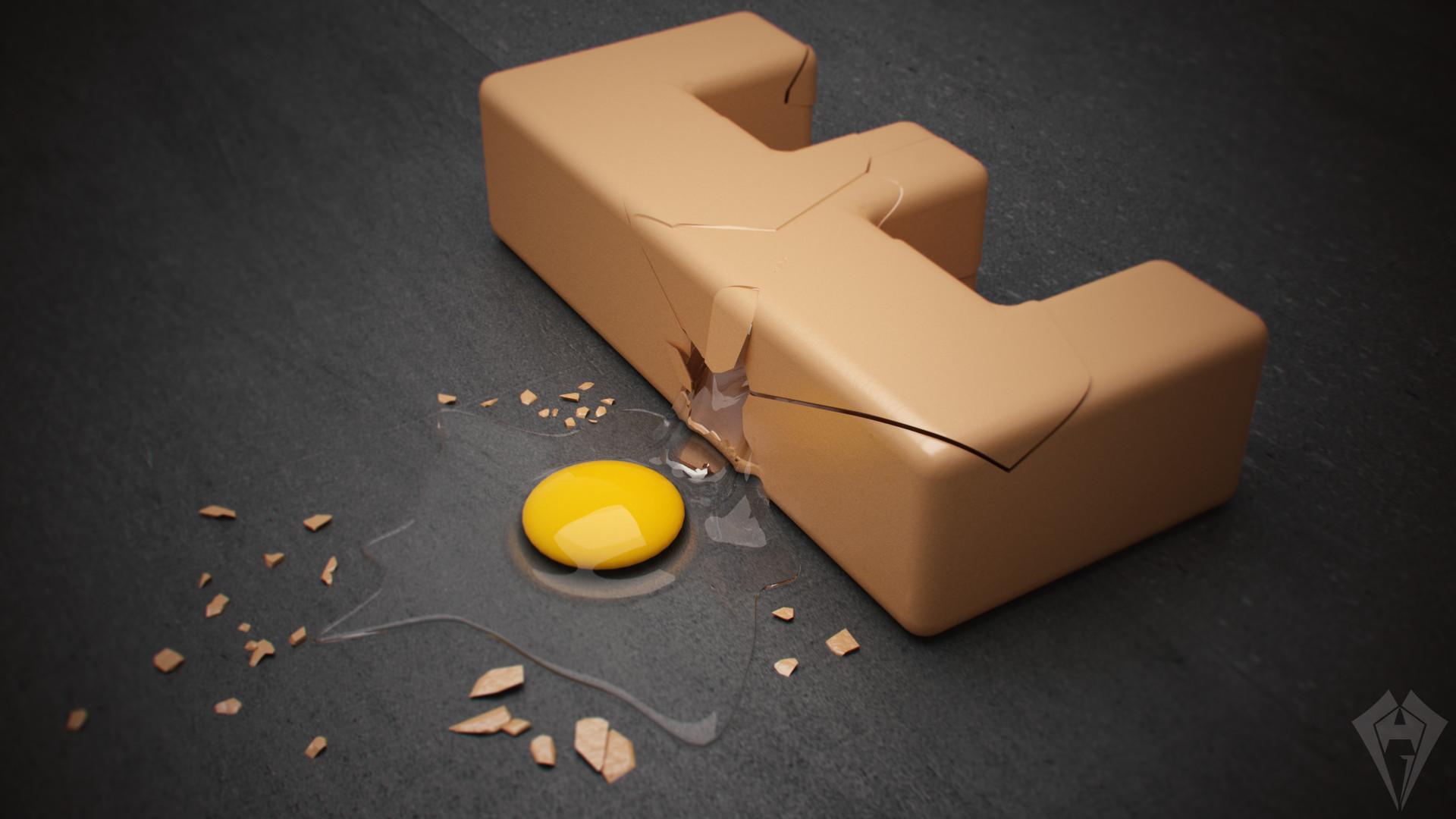 E from Egg by hugo matilde