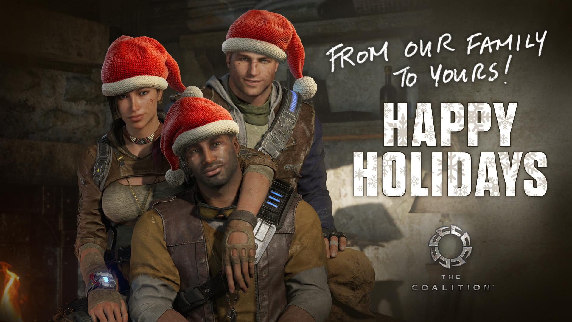 Haiwei hou happyholidays santa hats 1920x1080 1