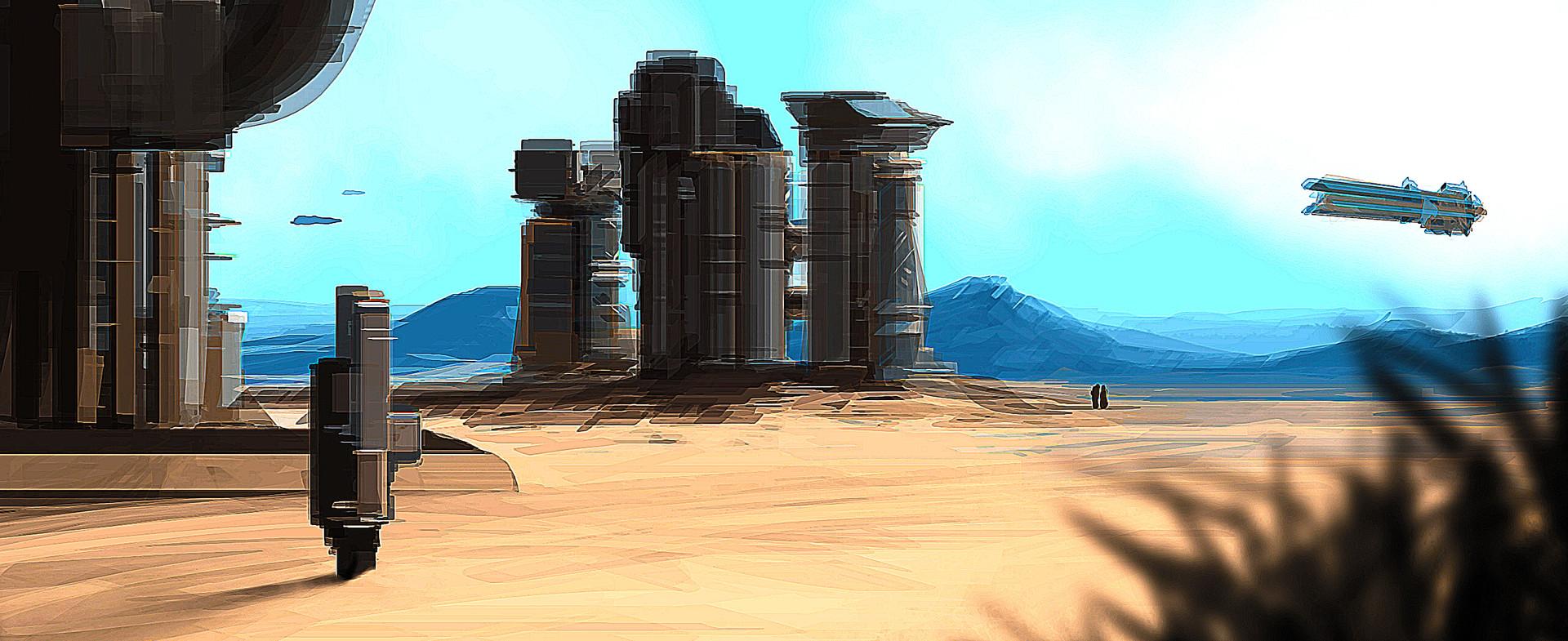 Desert Mining Station - 2010