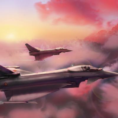 George mavroeidis concept art aircraft