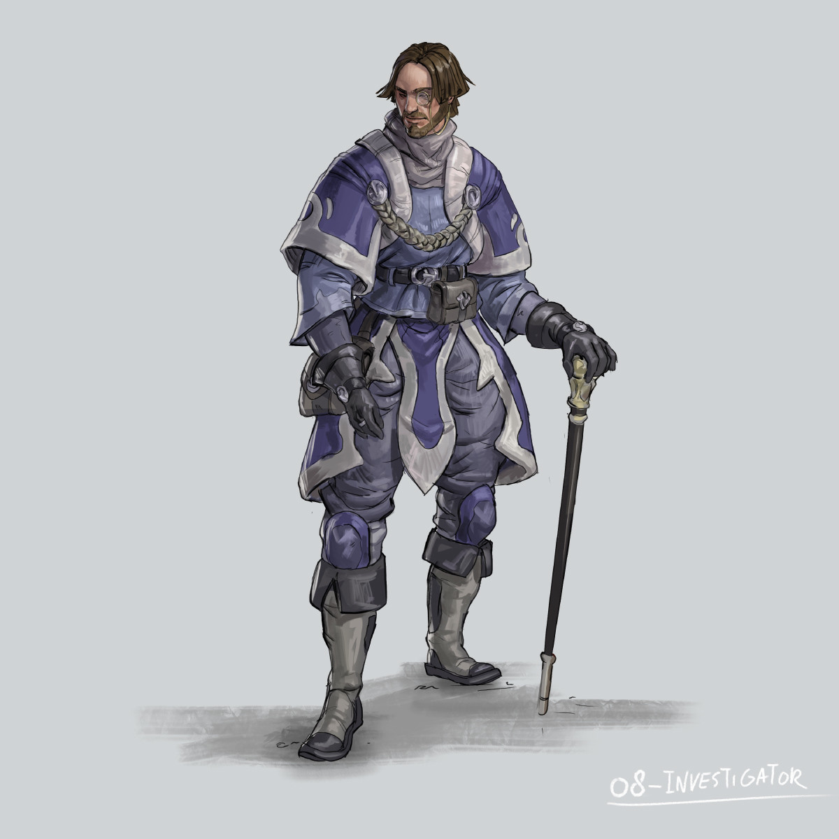 RPG Class day 08: investigator