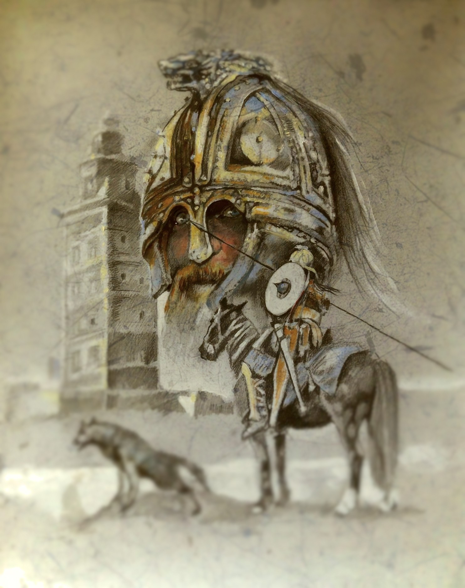 THE BARBARIANS: VISIGOTHS AND VANDALS 5TH TO 8TH CENTURY AD
