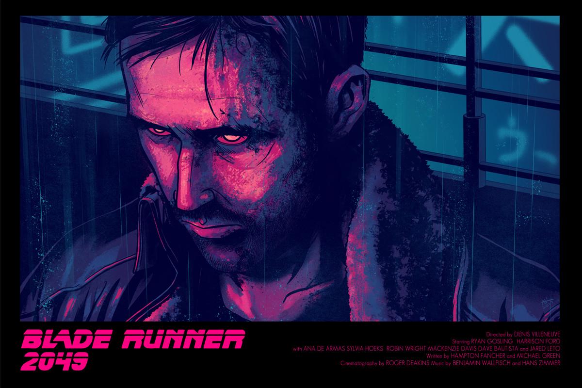 Andrew sebastian kwan blade runner 2049 retro poster sml