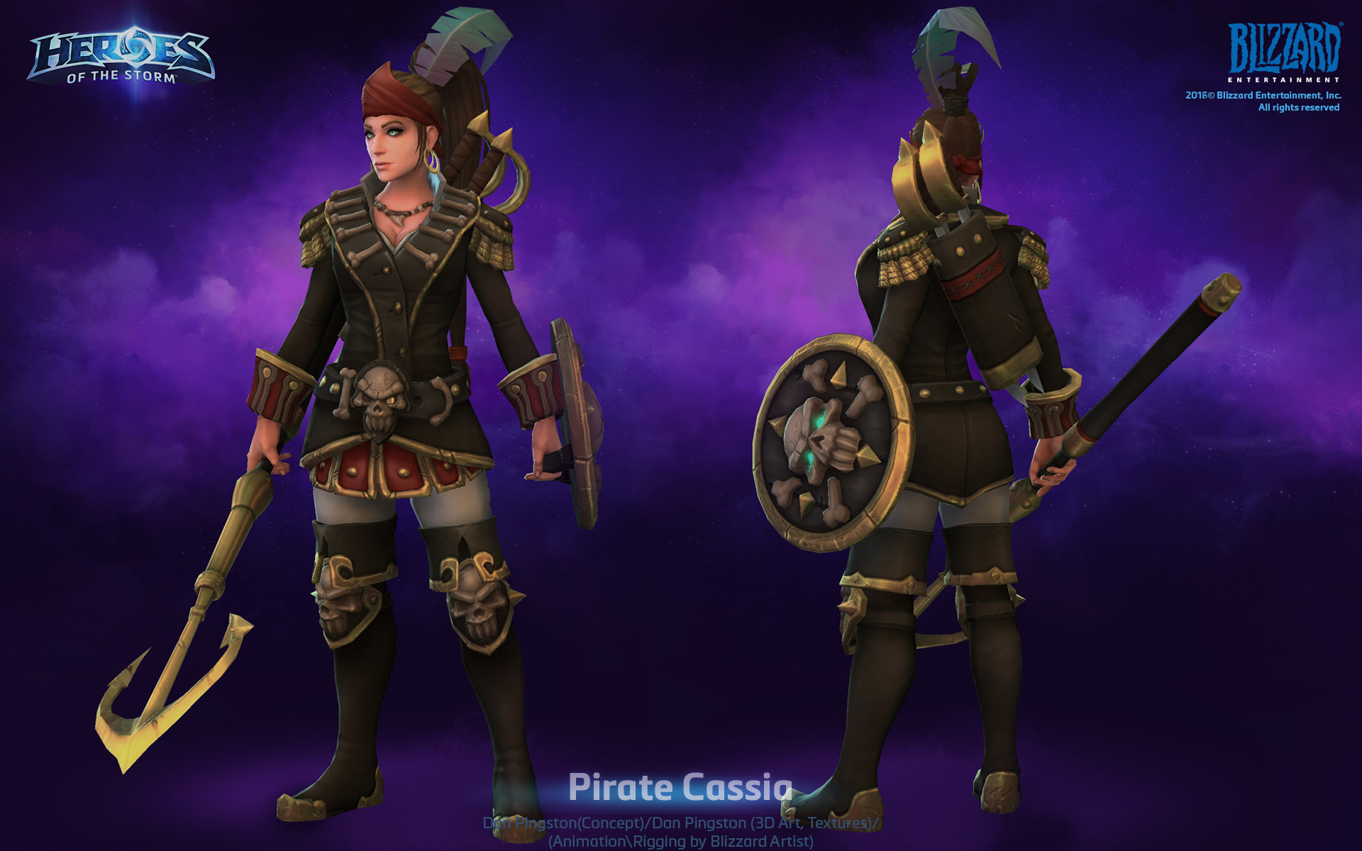 Dan pingston dan pingston pirate cassia