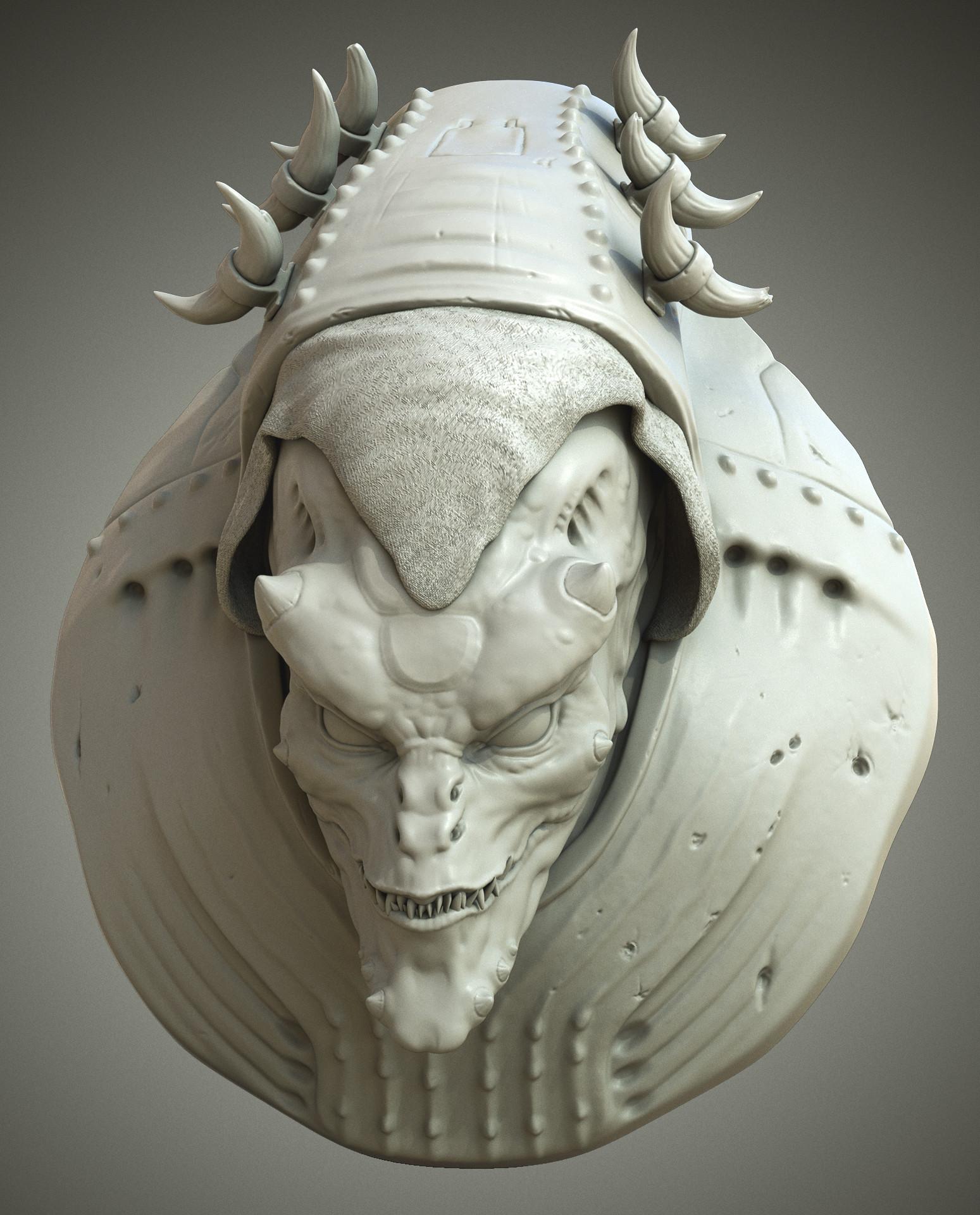 Panos cheliotis alien bust