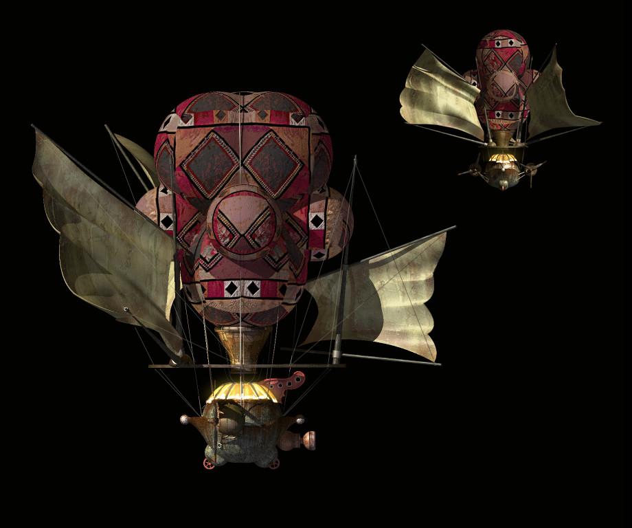 Ben harrison airship