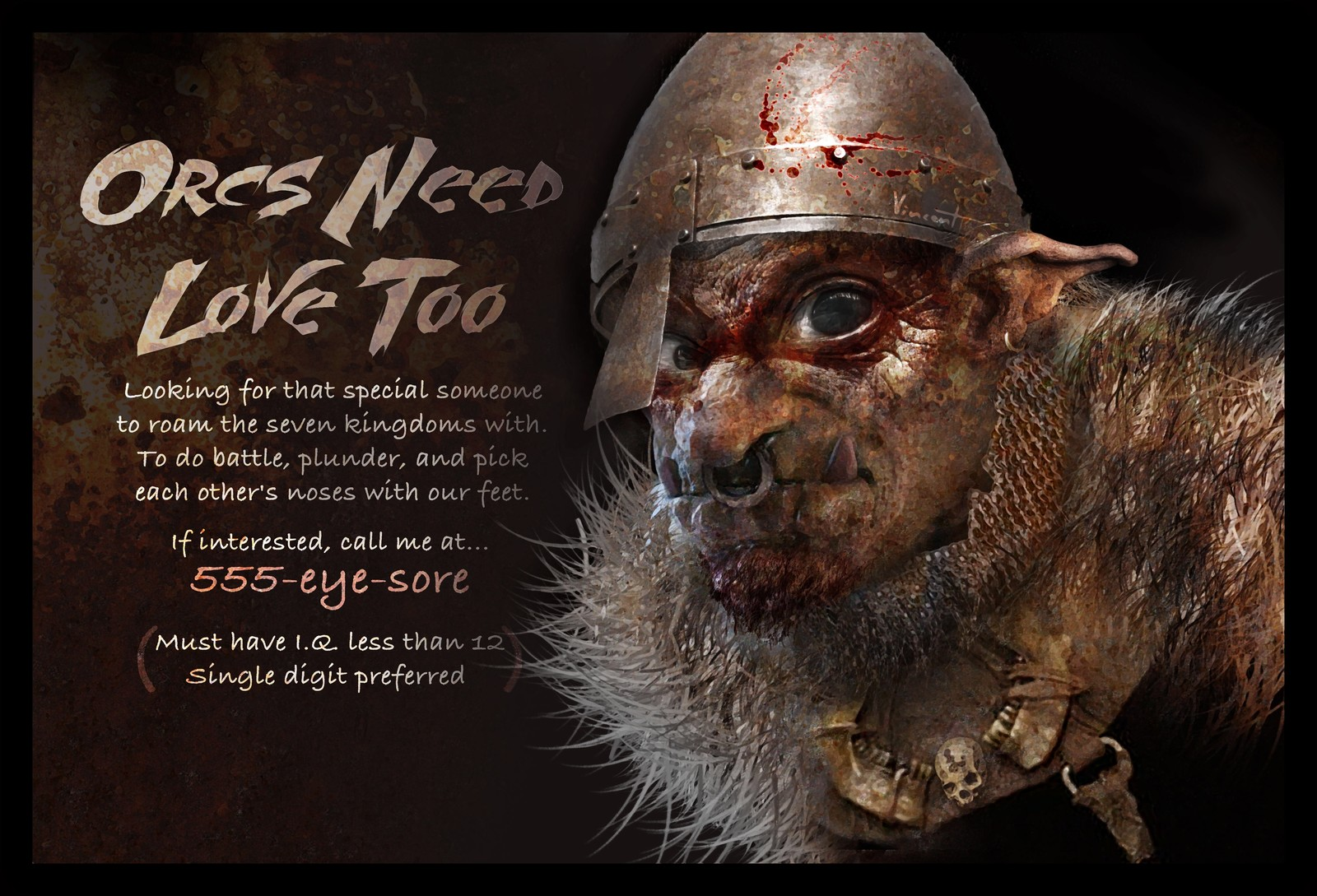 Orcs Need Love Too