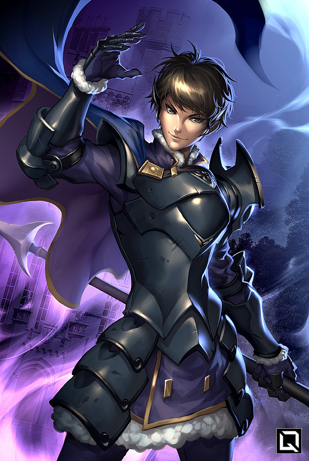 Berkut from Fire Emblem Echoes, Commissioned by Ian Sinclair