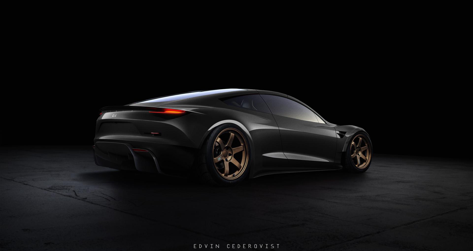 2020 Tesla Roadster >> Edvin Cederqvist Tesla Roadster 2020
