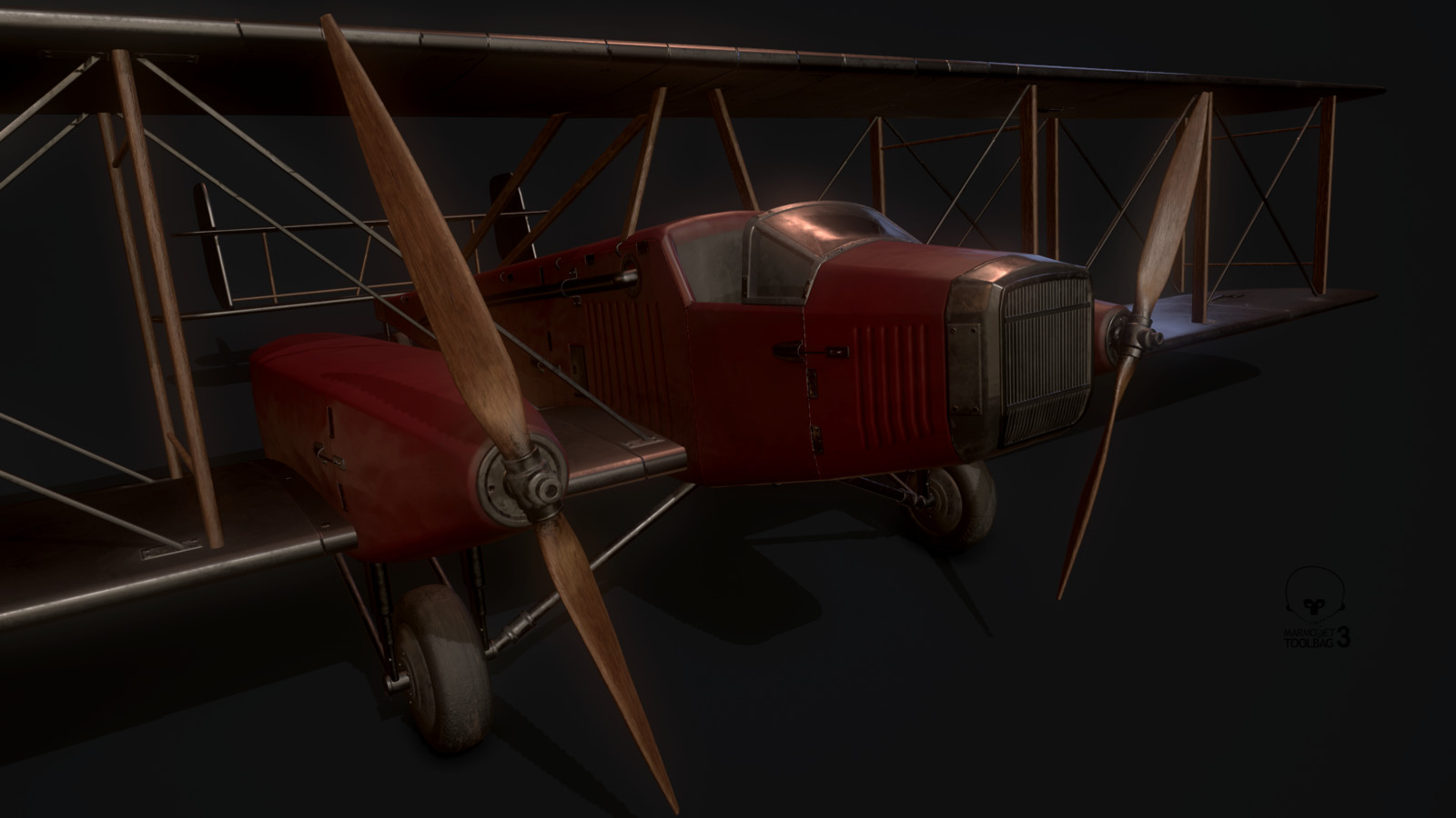 Handcrafted plane