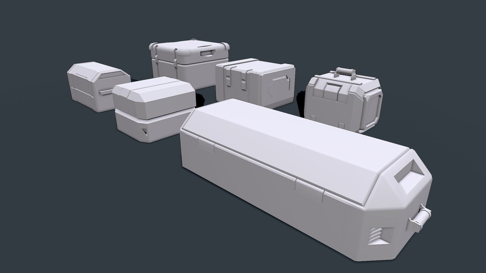 Loot Crate Concepts before finalizing an idea.