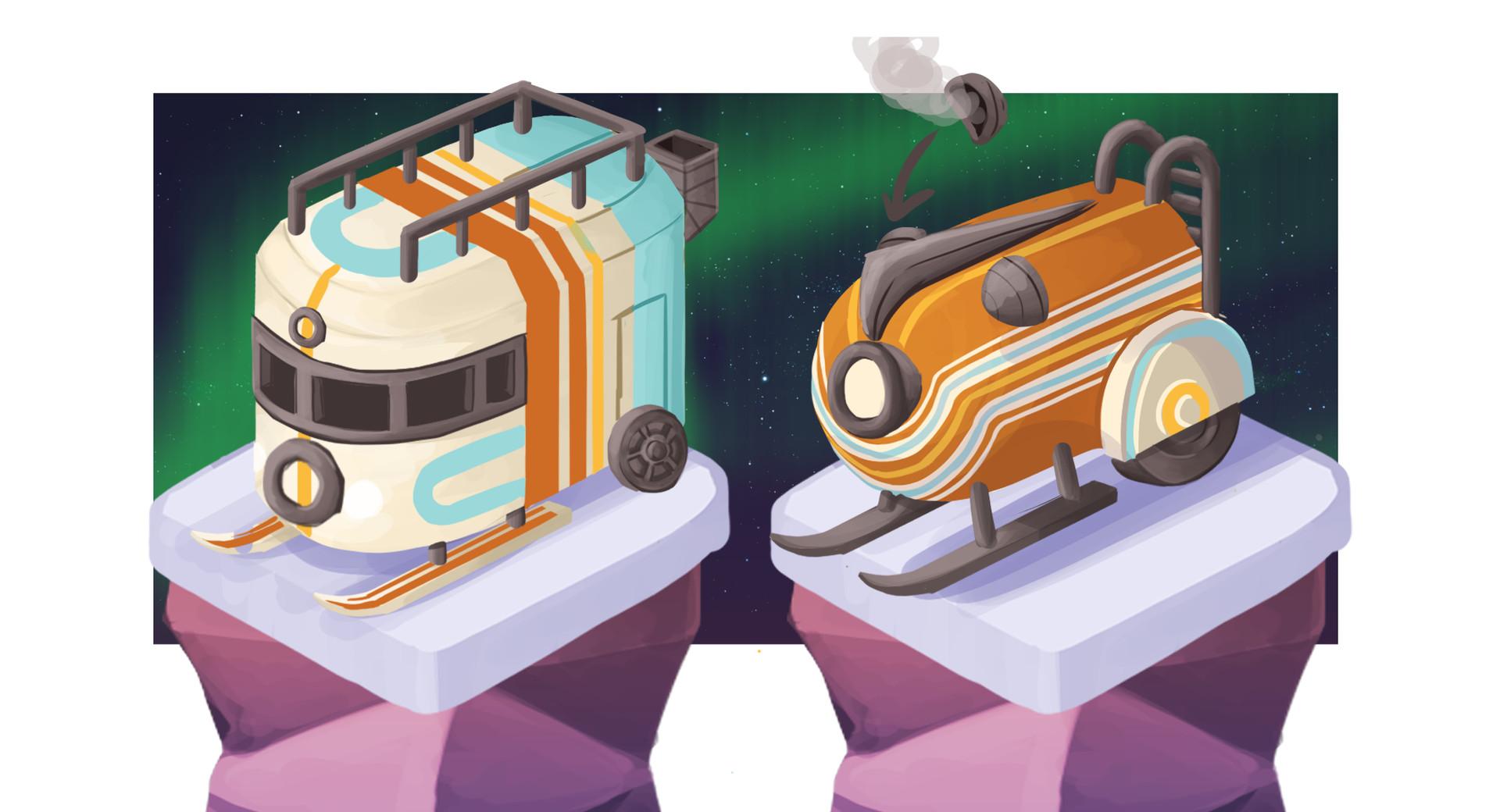Helen o dell arctic trains 0201