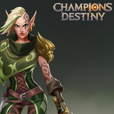Julian del rey champions destiny assassin juliandelrey ax